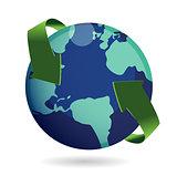Around the world concept