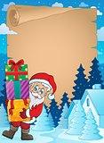 Christmas theme parchment 2