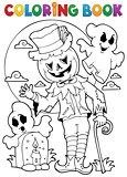 Coloring book Halloween character 9