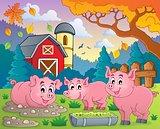 Pig theme image 2