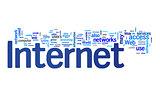 internet text cloud