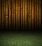 Bamboo and grass background