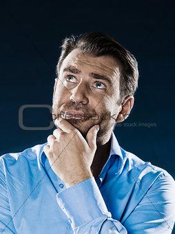 Man Portrait Thinking