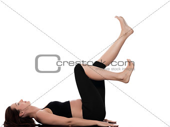 Pregnant Woman Train