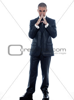 Man Businessman Portrait Cheerful smile
