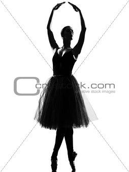 woman ballerina ballet tutu dancer dancing standing  tiptoe pose