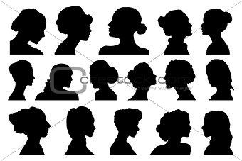 portraits women profile