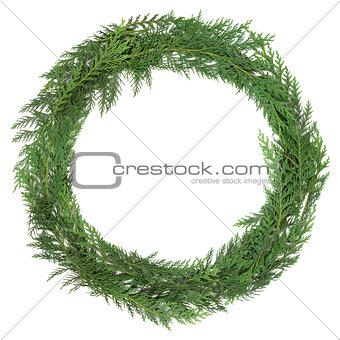 Cedar Cypress Wreath
