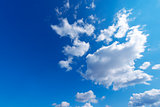Blue Sky with Clouds - Background
