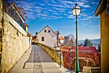 Town of Varazdinske toplice walkway
