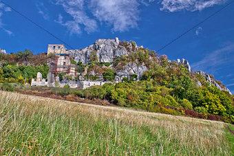 Autumn colors of Kalnik mountain