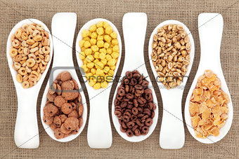 Breakfast Cereal Selection