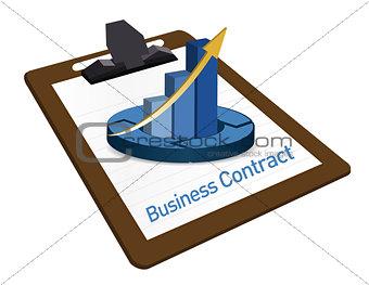 Business Contract documentation illustration