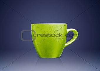 Green tea mug