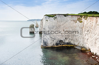 Old Harry Rocks Jurassic Coast UNESCO Dorset England