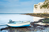 Old Harry Rocks Jurassic Coast UNESCO Dorset England at low tide