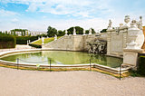 fountain in Belvedere Palace