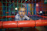 Boy having fun on the playground