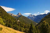 Predil Pass and Mount Mangart - Slovenia