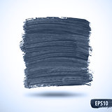 Black Grunge Watercolor Abstract Background