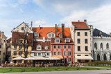 Riga central square