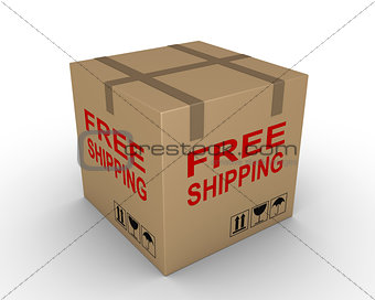 Free shipment of carton box