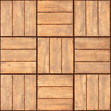 Seamless texture - wooden plaque wall