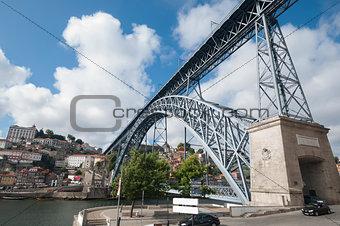 Don Luis Bridge in Oporto