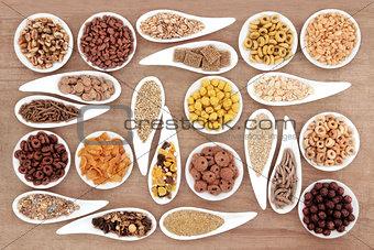 Breakfast Cereal Sampler