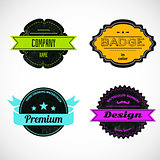 Color badges
