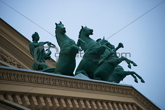 Apollo statue on Bolshoi Theatre