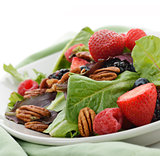 Spring Salad With Berries And Peanuts