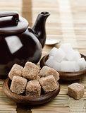 Brown And White Sugar