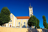 Catholic church in Molve, Croatia