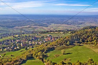 Green nature in region of Prigorje