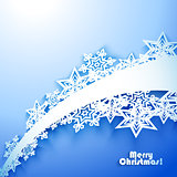 Abstract Christmas winter Background