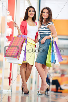 Lovely shoppers