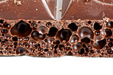 porous dark chocolate