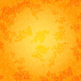 Bright orange seamless pattern