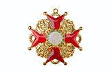 badge  of the Order St Alexander Nevsky