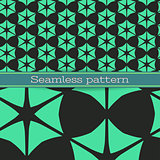Vector geometric seamless patter