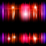 Abstract shiny colorful lines background