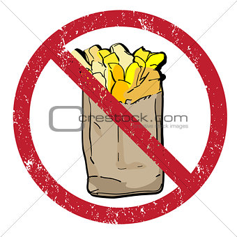 french fries banned