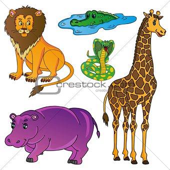 Wild animals collection 01