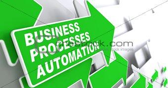 Business Processes Automation Concept.