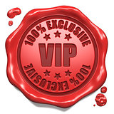 VIP Exclusive - Stamp on Red Wax Seal.