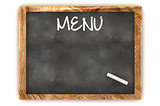 Blank Menu Illustration