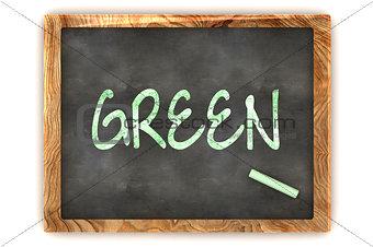 """Blackboard """"Green"""""""