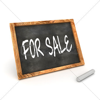 "Blackboard ""FOR SALE"""