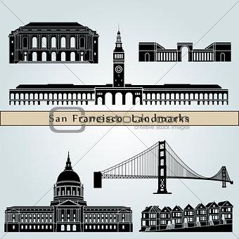 San Francisco landmarks and monuments